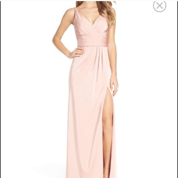 b722abe6 xscape Dresses   Blush Floor Length Dress   Poshmark